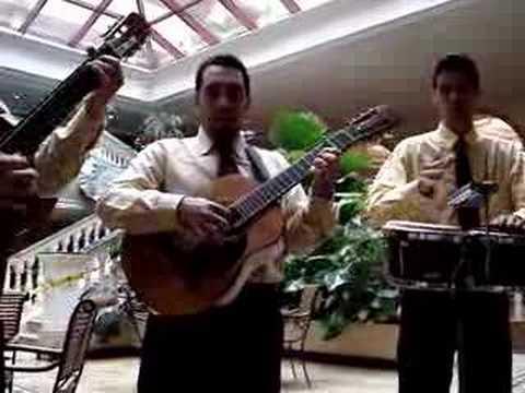 Cuban Band at Parque Central Hotel, Havana