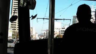 岡山電気軌道清輝橋線 大雲寺前-岡山駅前間(前面展望)MOMO2(1011)