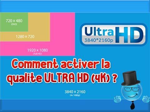 Comment mettre une vidéo en 4K - ULTRA HD - 3840p - 4096p | Youtube News