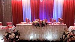Wedding Reception Decor & flowers arrangement idea's