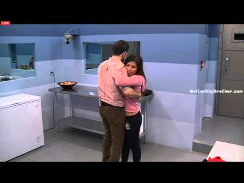 Big Brother Canada 3 Jordan and Sindy Kiss and a dance