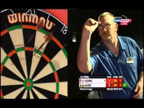 BDO Welsh Open 2014 - Men's Quarter-Finals - Martin Adams vs. Steve Alker