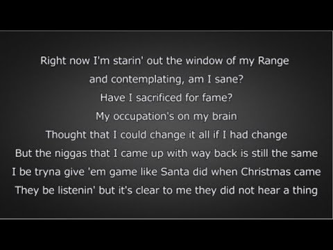 J. Cole - Window Pain (Lyrics)
