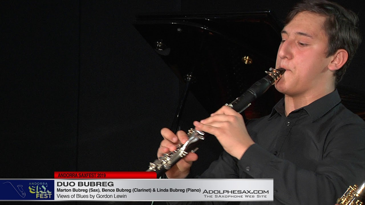 ANDORRA SAXFEST - Duo Bubreg - Views of Blues by Gordon Lewin