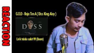 DISS TERSADIS | G.O.D - Raja Tim A ( Diss King Alay )