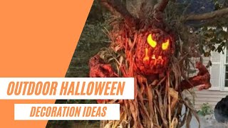 Awesome Diy Outdoor Halloween Decorations