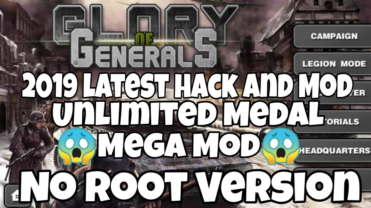 Ace glory 2 of hack generals Glory of