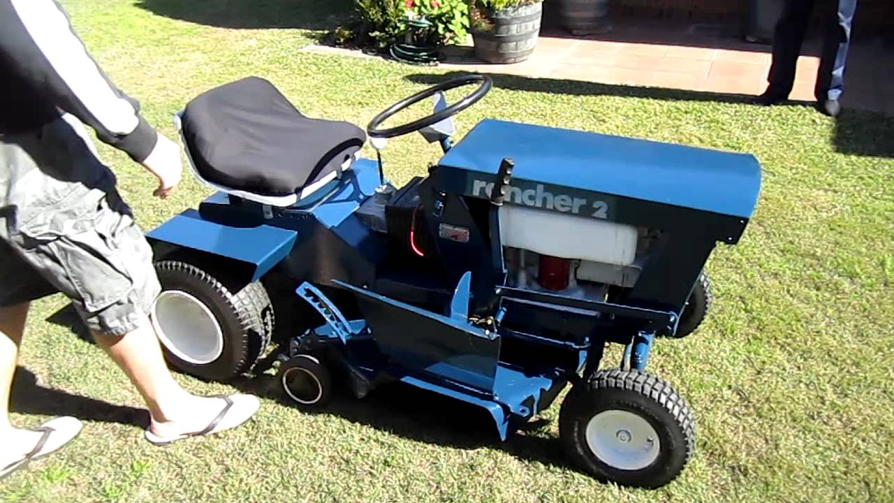 rover rancher 2 start youtube rh youtube com rover rancher 12 hp ride on mower manual rover rancher ride on mower workshop manual