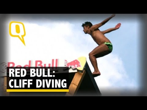Red bull cliff diving world series cliff diving off 89 ft high bridge youtube - Red bull high dive ...