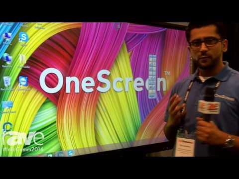 InfoComm 2016: OneScreen Demonstrates Collaboration Software