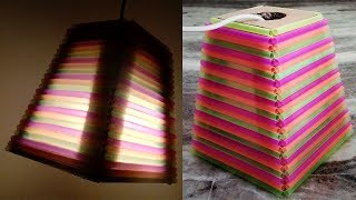 DIY Lamp   How To Make A Night Lamp   How To Make A Lantern