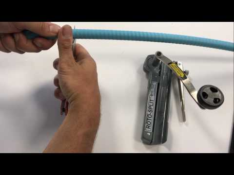 Preparing Interlock Armored Fiber Optic Cable for Termination |  Hitachi Cable America