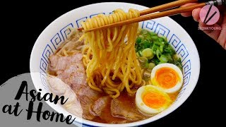 The BEST Ramen Recipe! Traditional Shoyu Ramen