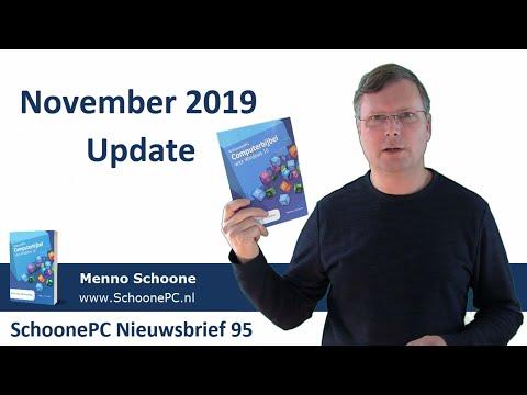 Windows 10 - November 2019 Update (SchoonePC Nieuwsbrief 95)
