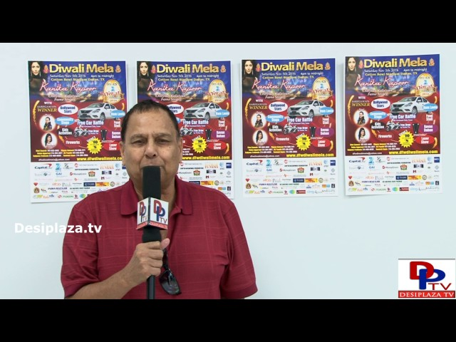 Ramesh Gupta  inviting every one to attend the upcoming Diwalimela event