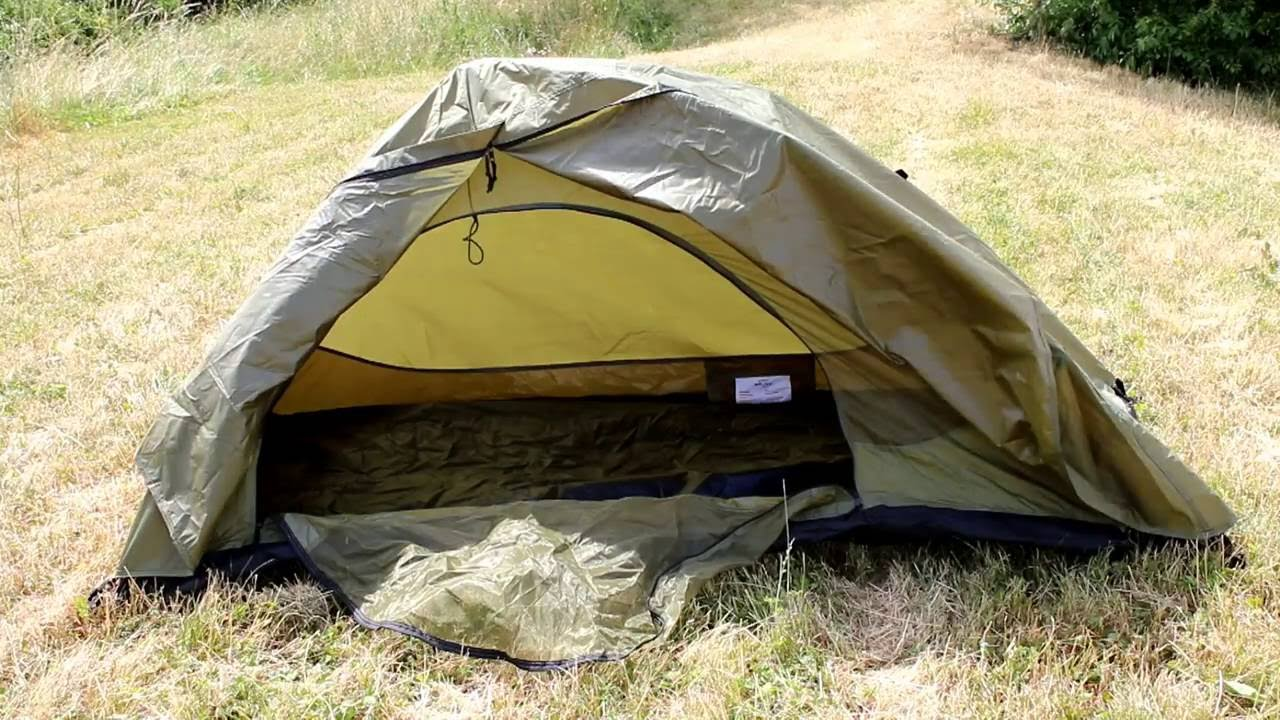 Mil-Tec POP UP Double Skin One Person Tent 1080p & Mil-Tec POP UP Double Skin One Person Tent 1080p - YouTube