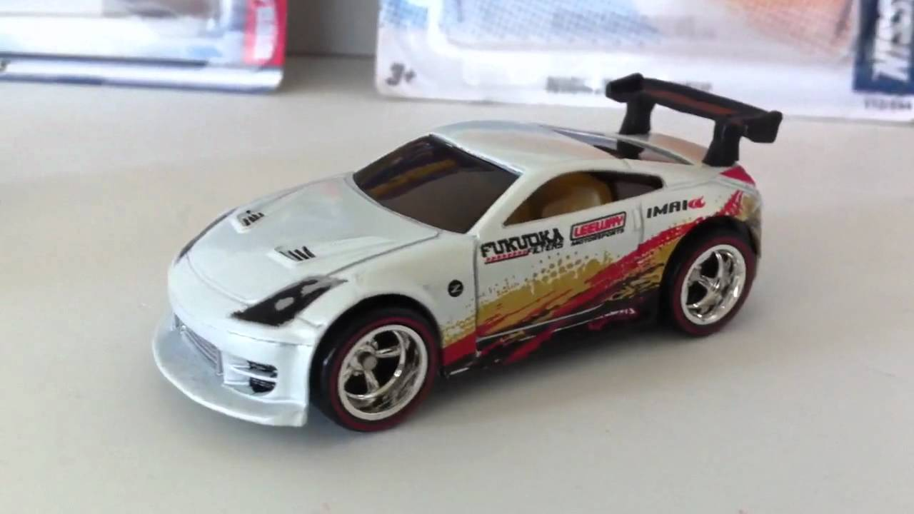 Hot Wheels Hidden Uper T Hunt Nissan 350z And The Toyota