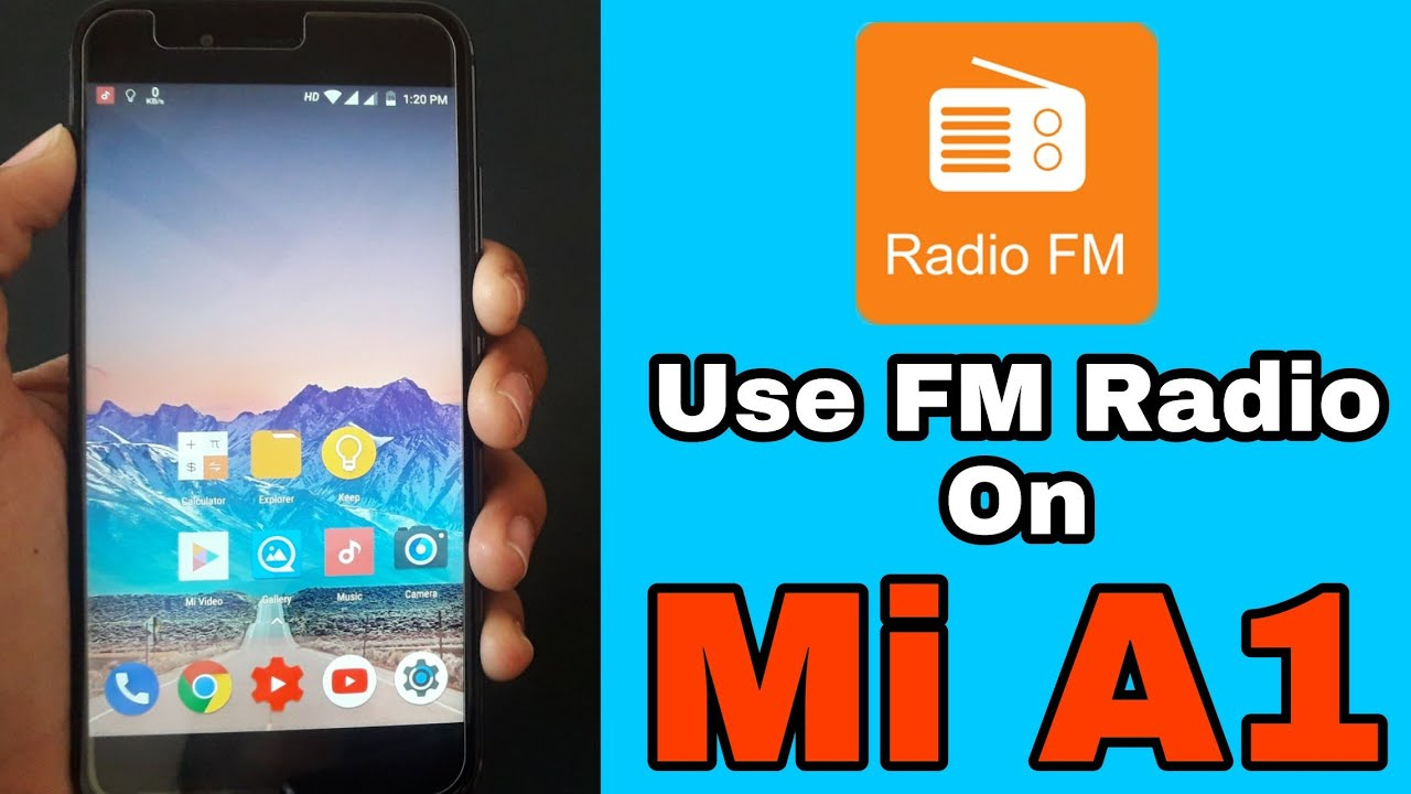 Use FM Radio on Xiaomi Mi A1