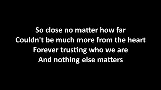 Deep Purple & Kiss - Nothing Else Matters with lyrics