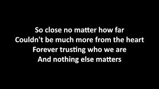 Deep Purple & Kiss - Nothing Else Matters with lyrics