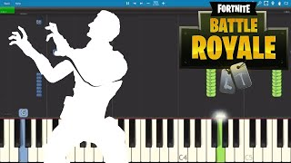 Fortnite Dances - Reanimated Piano Tutorial - How to play Reanimated