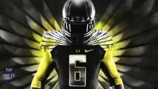 Oregon Ducks Glow in The Dark Uniforms 2015-2016 NCAA Football