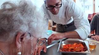 Atelier roses de pommes feuilletées pour les résidents du Foyer Bethel (GE)