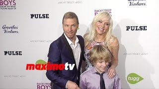 Brian Littrell & Leighanne Wallace | Backstreet Boys Show 'Em What You're Made Of Premiere