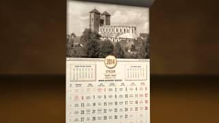 """Stare Gniezno - Kalendarz 2014 """"Gniezno na starej pocztówce z Gniezno.com.pl"""""""