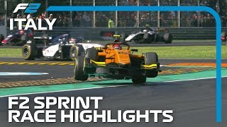 Formula 2 Sprint Race Highlights | 2019 Italian Grand Prix