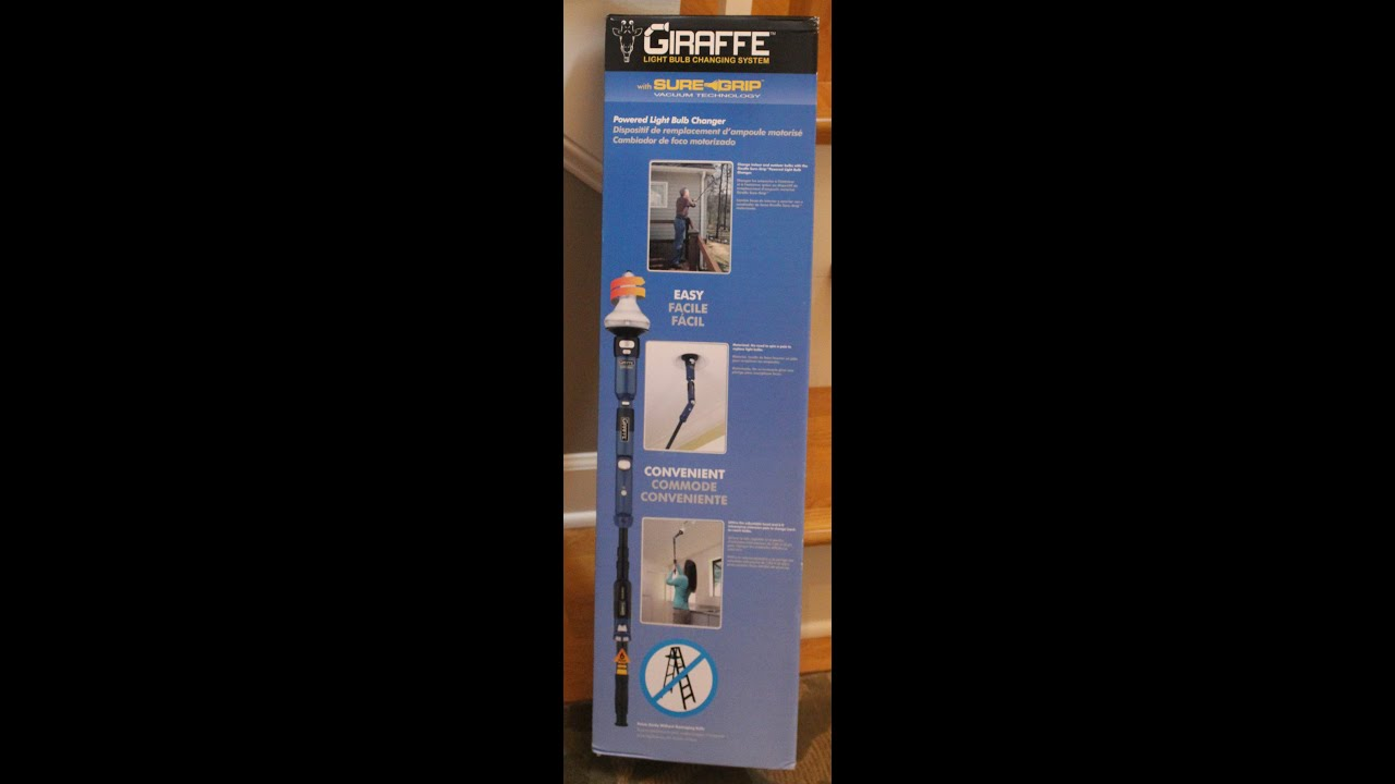 Giraffe Sure Grip Bulb Changer - YouTube