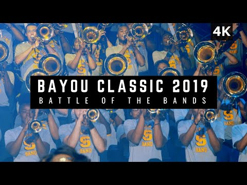 Bayou Classic 2019 Battle Of The Bands   Southern Vs Grambling [4K ULTRA HD]