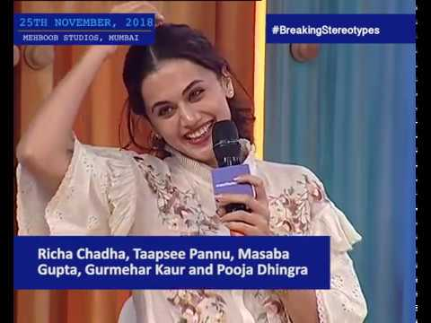 Young & Restless: Taapsee Pannu, Richa Chadha, Masaba Gupta, Gurmehar Kaur & Pooja Dhingra Mp3