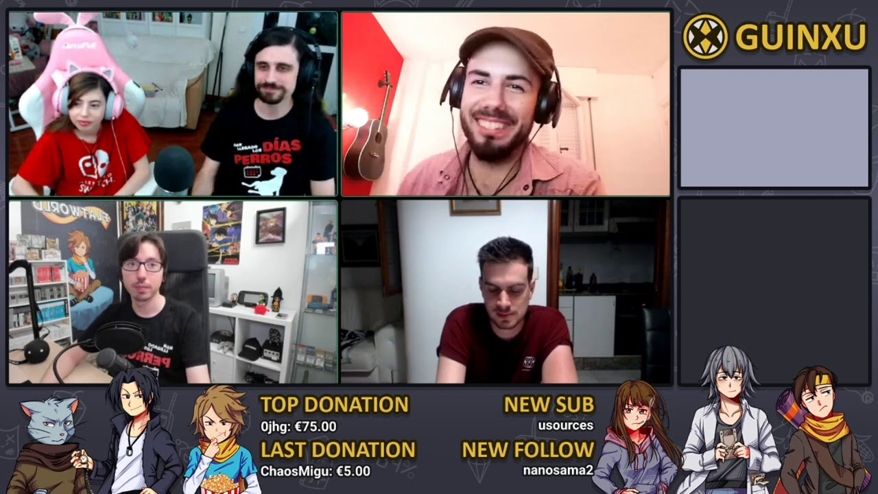 Presión al ser GameDevs en YouTube   Con Alva Majo, Kony, HeyNau y Charditronic