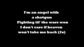 The Cab - Angel with a shotgun lyrics