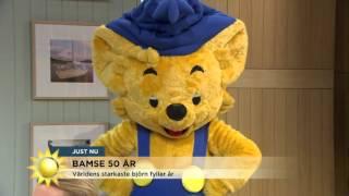 Grattis Bamse: 50 år! - Nyhetsmorgon (TV4)