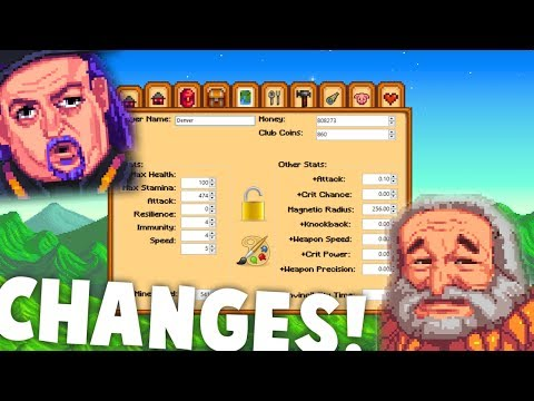 Stardew Valley - CHANGE ALL THE THINGS! $$ | Save Editor Mod