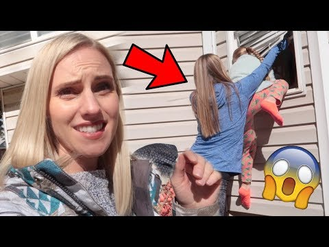 Sisters BREAK IN To Mom And Dad's HOUSE!