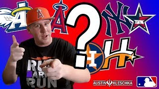 SHOULD MLB TEAM LOGOS BE REDESIGNED?!