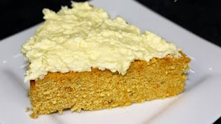 Healthy Coconut Pumpkin Cake (vegan And Sugar Free)