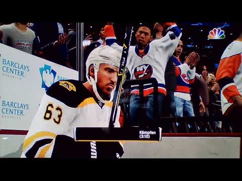 1Drittel Boston Bruins v New York Isländers