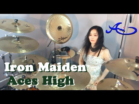 Iron Maiden - Aces High drum cover by Ami Kim (20th)