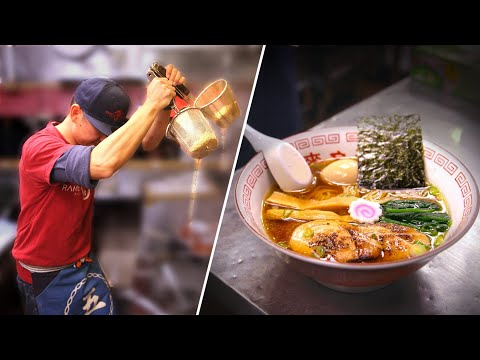 The Amazing Skills Of A Ramen Master • Tasty