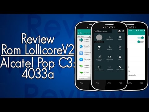 Review: Rom LollicoreV2 Alcatel Pop C3 4033a