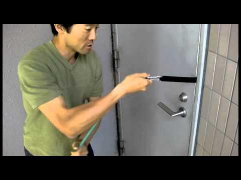 SysTubeドアアンカー使用方法1 ドアのセットアップ - YouTube