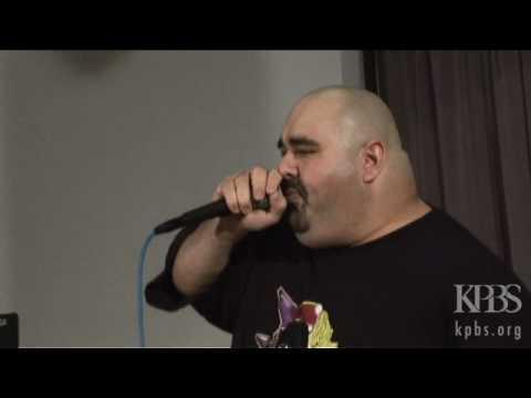 Beatboxer BEEHIVE Freestyling - Performance on KPBS Radio