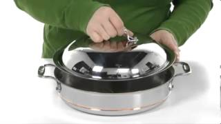 All-Clad Copper-Core 3 Qt. Sauteuse Pan with Lid SKU: #8092375