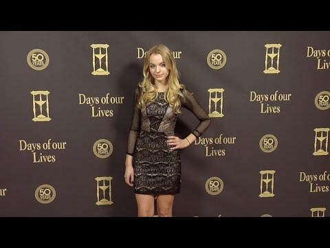 Olivia Rose Keegan Red Carpet Style at Days of Our Lives 50 Anniversary Party