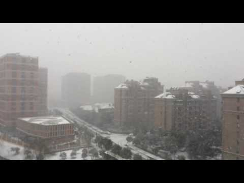 Snow in Hangzhou