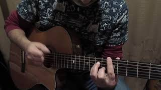 Простейший бой фламенко на гитаре